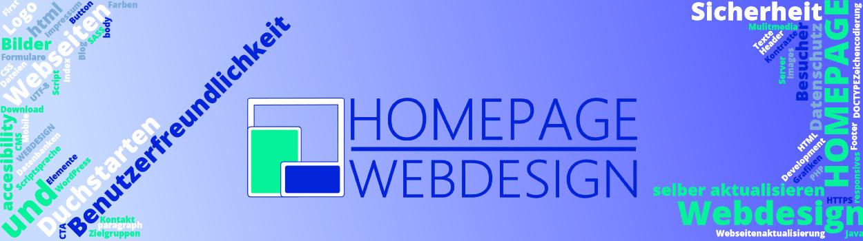 Headerbild für Homepage und Webdesign